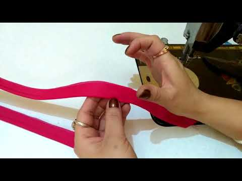 How to make two types of strip/patti - How to make fabric lace