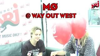 [INTERVIEW] MØ på Way Out West 2017 - NRJ SWEDEN