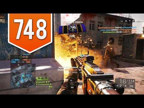 BATTLEFIELD 4 (PS4) - Road to Max Rank - Live Multiplayer Gameplay #748 - FAVORITE MAP?