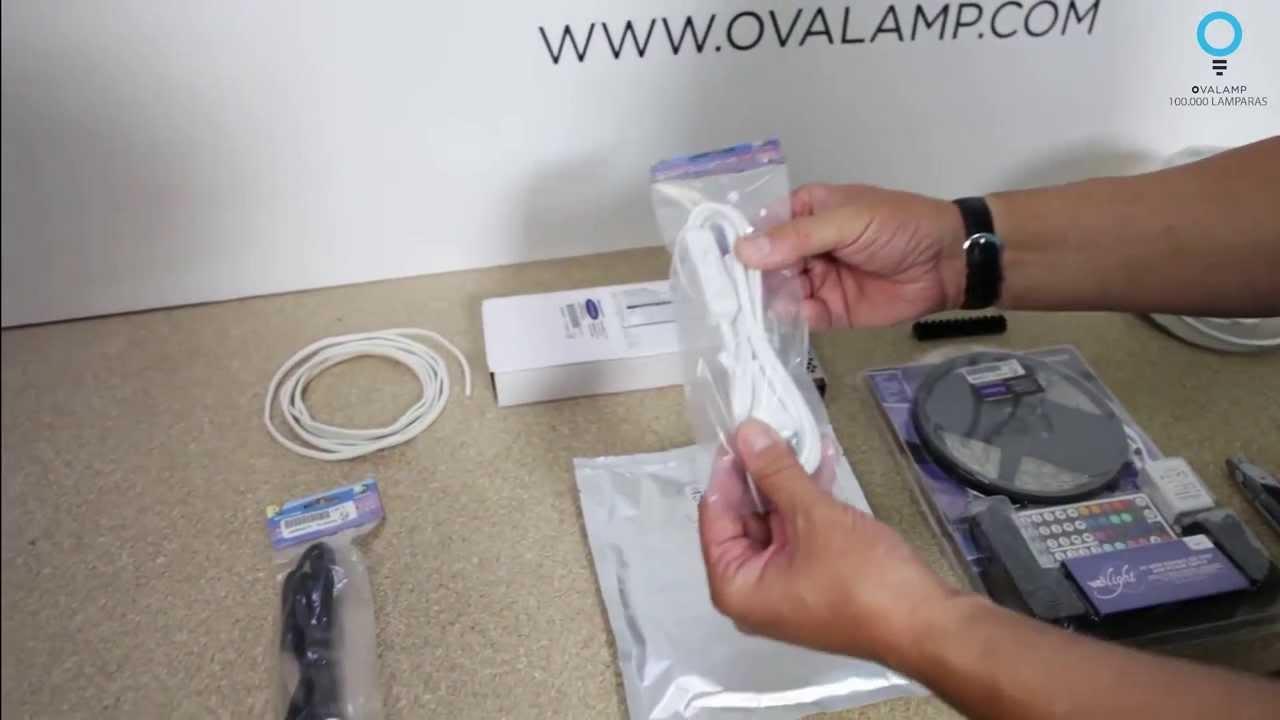 TUTORIAL OVALAMP: ¿Cómo instalar tiras LED?