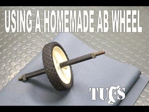 Using a Homemade Ab Wheel