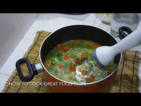 🍅 🍆 Carrot & Coriander Soup - Vegan Cilantro Recipe - Super Easy