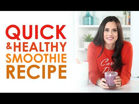 Easy Healthy Smoothie Recipe | Keri Glassman