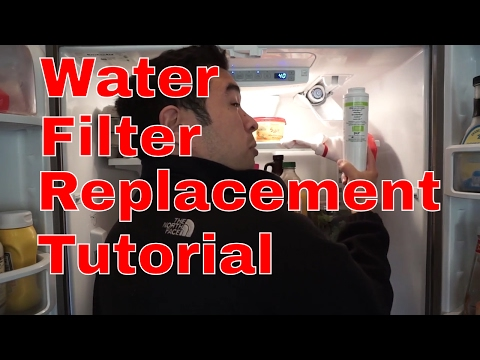 KitchenAid Fridge Water Filter Replacement | Fridge Maintenance Guide | Walkthrough + UKF8001