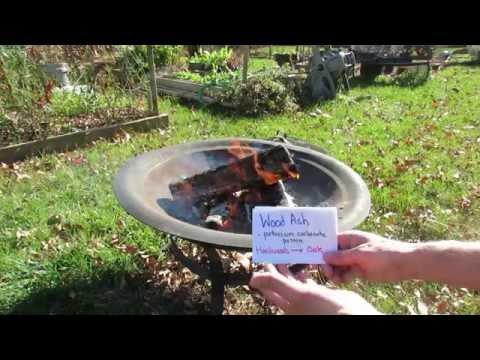 TRG 2016: How to Use Hardwood Ash as Fertilizer: Potassium, Calcium, Magnesium