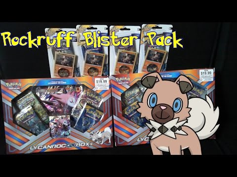 Pokémon Rockruff Blister Pack Opening (Code Card Giveaway)