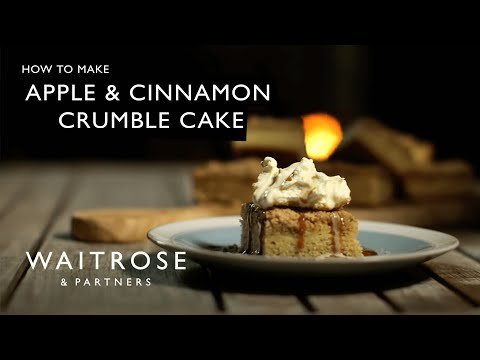 Apple and Cinnamon Crumble Cake | Waitrose