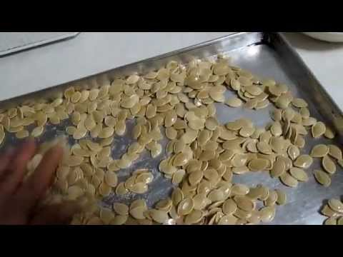 Home Made Roasted Pumpkin Seeds