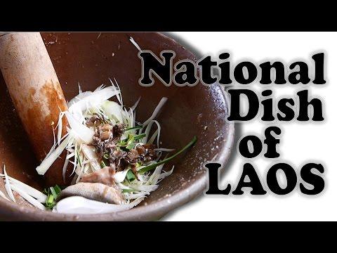 Lao Food - National Dish of Laos