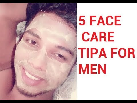 5 Tips for Male Face Care | Mens grooming | Mens Face Care | Mens Beauty Tips