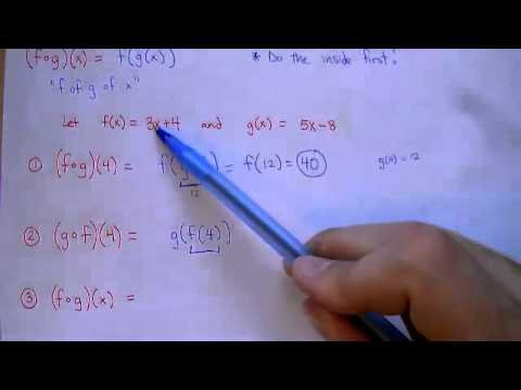 Composing Functions (7-6-2)