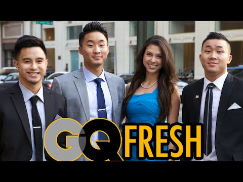 HOW TO BE GQ FRESH! (Asian Guys In Suits)