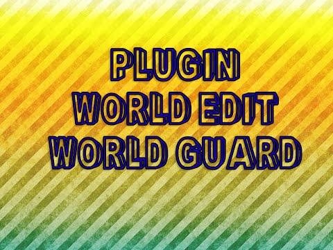 Como Proteger Zonas En Tu Server - Plugin - World Guard | World Edit