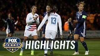90 in 90: Scotland vs. United States | 2018 Women