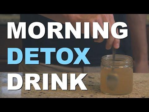 Morning Detox Drink Recipe with Apple Cider Vinegar