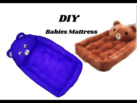 Babies mattress making with clothes | simple and easy making