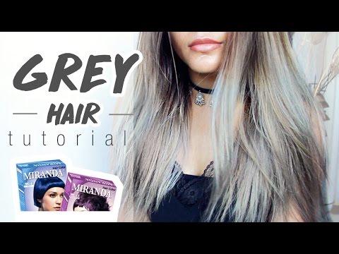 Grey / Silver Hair Tutorial Cat Miranda || Bahasa Indonesia SUB - Boya Boay