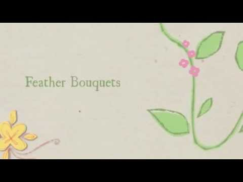 Wedding Flowers (Feather Bouquets) - Philippines