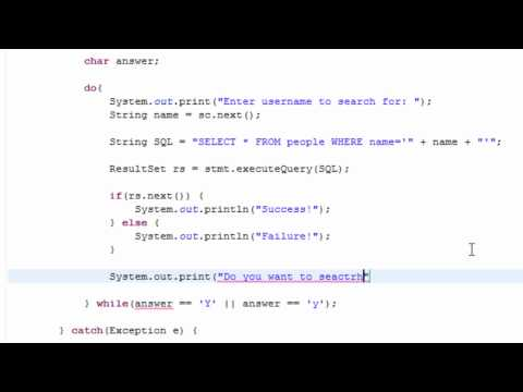 Java & MySQL - Check if a value already exists : Version #2