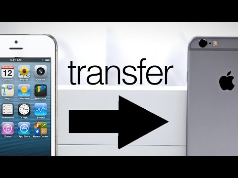 How to Transfer all info from Old iPhone to New iPhone - Data Transfer