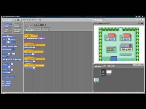 Scratch - The Pokemon Game Update 1