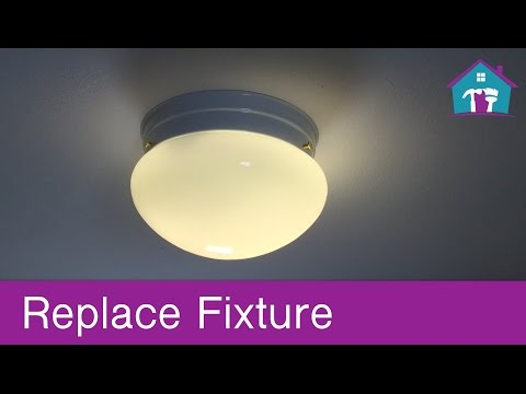 How to Replace a Ceiling Fixture