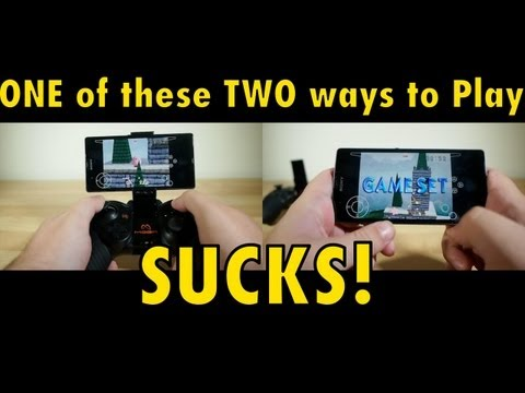 Make any Android Phone a Game Console - MOGA PRO Gamepad Review
