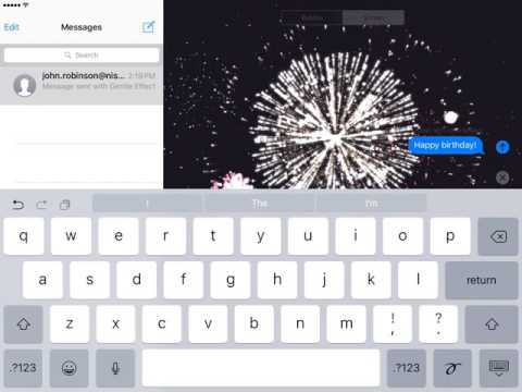 iMessage: IOS 10 Features
