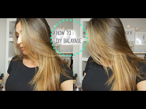 HOW TO : DIY Lighten/Balayage your hair at home