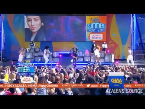 Iggy Azalea - Black Widow (Live at GMA Summer Concert Series)