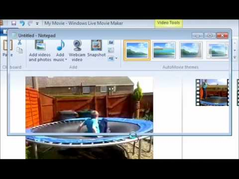 How To Use Slow Motion Using Windows Movie Maker