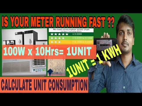 Is Electric Meter Running Fast, Know Your Electricity Unit Consumption