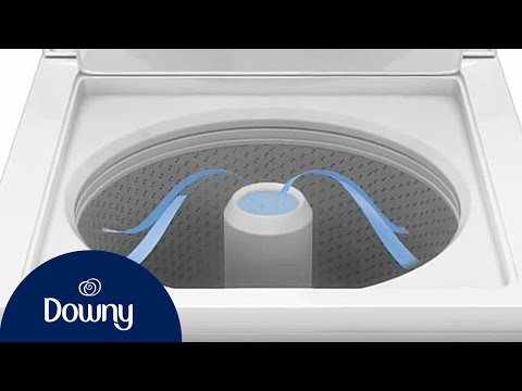 How to Use Downy Fabric Softener in Top-Load Machines | Downy