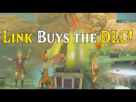 Link Buys the DLC! ULTRA Live Stream HYPE! BotW DLC Chest Locations in Zelda Breath of the Wild DLC