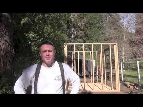DIY Shed/Chicken coop- Part 1 of 2
