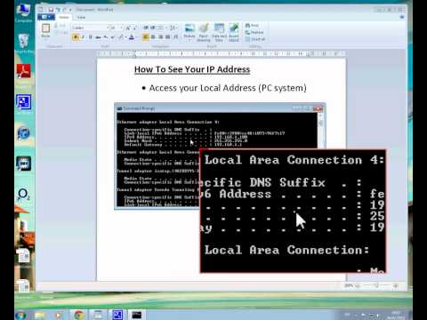 How To Find My IP Address (Basic Tutorial)