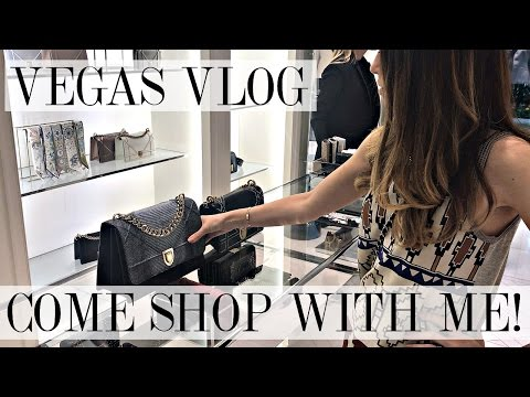 COME SHOPPING WITH ME! | Chanel, Louis Vuitton, Dior & Gucci | VEGAS VLOG