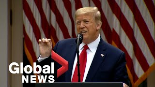 U.S. cuts all ties with the WHO as Trump levels sweeping diplomatic penalties against China | FULL