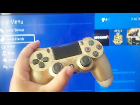 How to Change The color Bar on your Ps4 Controller!