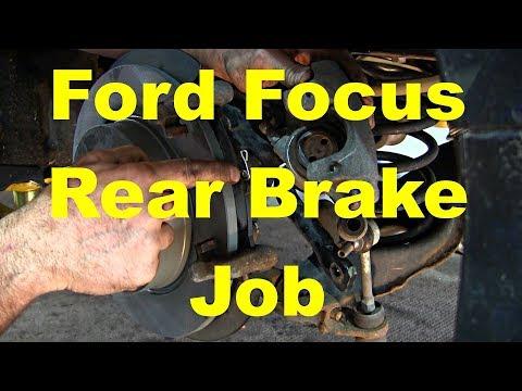 Ford Focus Rear Brake Job 2011 - Present