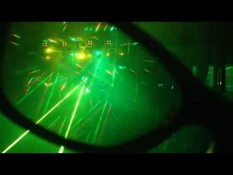 GloFX Diffraction Glasses at the rave, Bedlam in Bournemouth