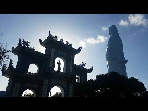 Big Guan Yin statue Danang Vietnam