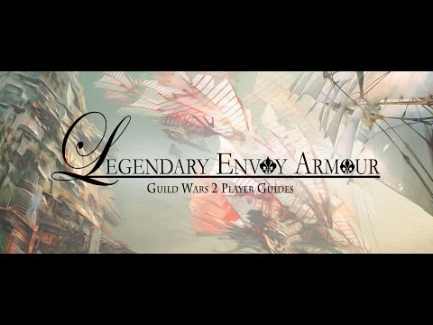 Guild Wars 2 | Showcase: Legendary Envoy Armour | The Krytan Herald