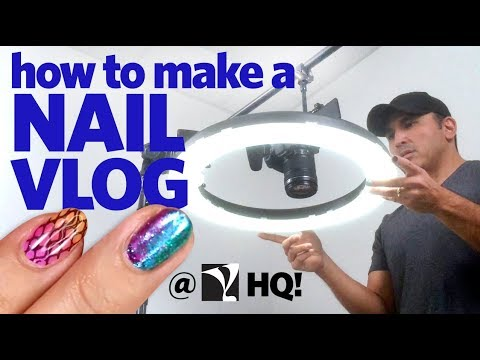 The Making of a Young Nails Vlog