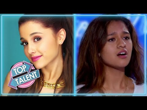 TOP ARIANA GRANDE Covers | Featuring Alyssa Raghu, Lauren Murray and more! | Top Talent