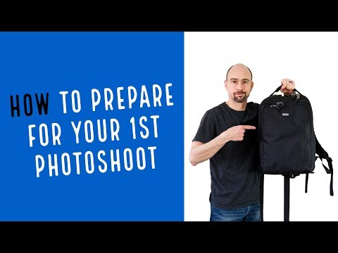How to Prepare for Your First Photoshoot