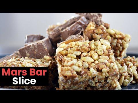 Deliciously Easy Mars Bar Slice