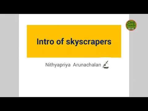 INTRO OF SKYSCRAPERS