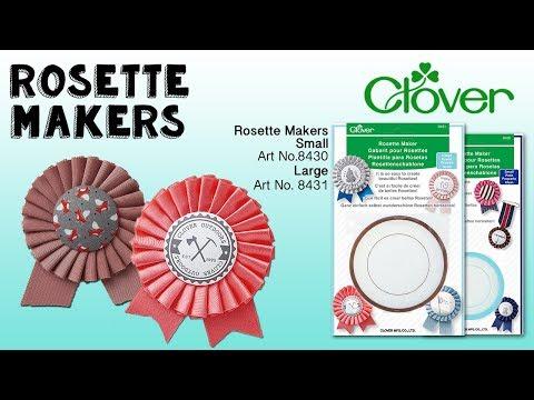 Tool School: Rosette Makers