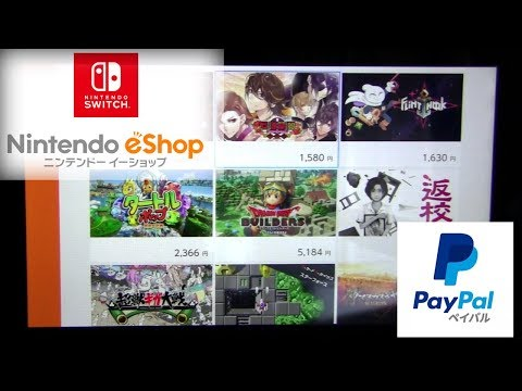 How to Create Japanese Paypal Account for Nintendo Switch eShop Games